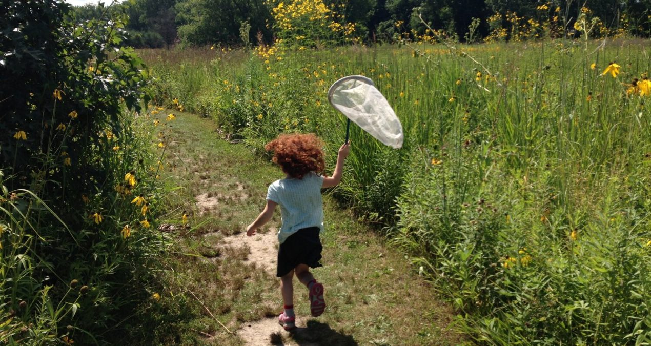 The effects of playing freely in nature: studies show