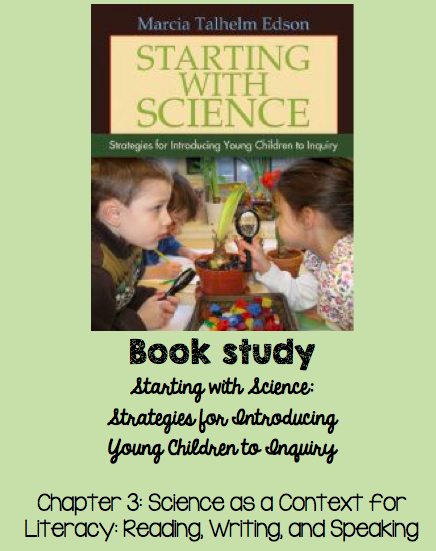 Book Study: Starting with Science Chapter 3