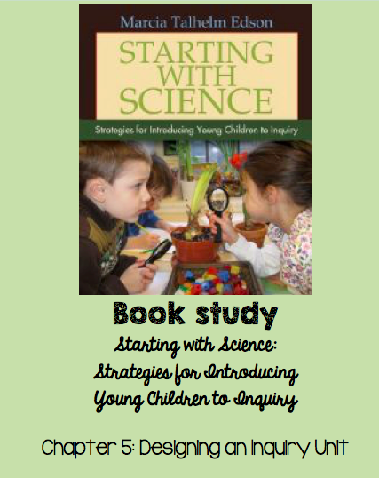 Starting with Science book study on TeachRunEat