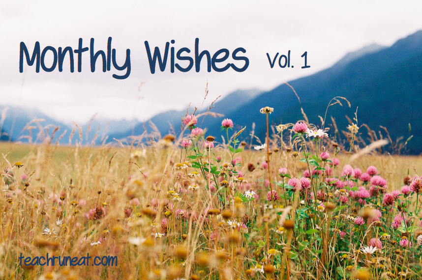 Monthly Wishes Vol 1