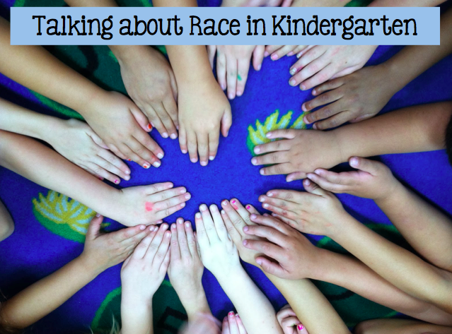 Talking about race in kindergarten